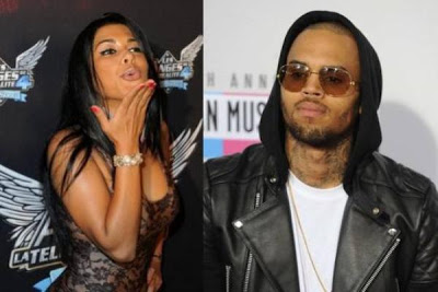 FRENCH REALITY STAR CLAIMS TO HAVE SEXED CHRIS BROWN WITH KARRUECHE IN THE SAME ROOM!