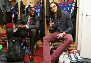 Deng and Noah look pretty good. But Joakim's hair steals the show. (Nathaniel S. Butler/NBAE via Getty Images)