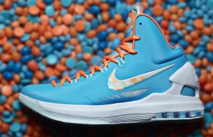 Kevin Durant Easter themed sneakers