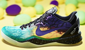 Kobe Bryant Easter Themed Sneakers