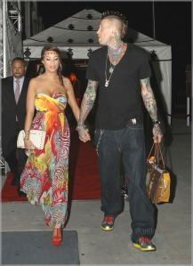 "Chris ""Birdman"" Andersen and his boo attended the event as well."