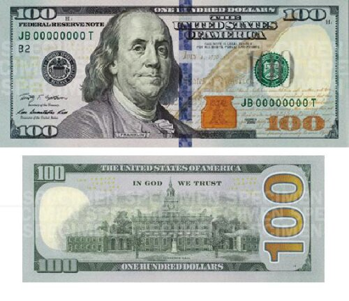 Say HELLO To The NEW BENJAMIN! Revamped $100 Bill To